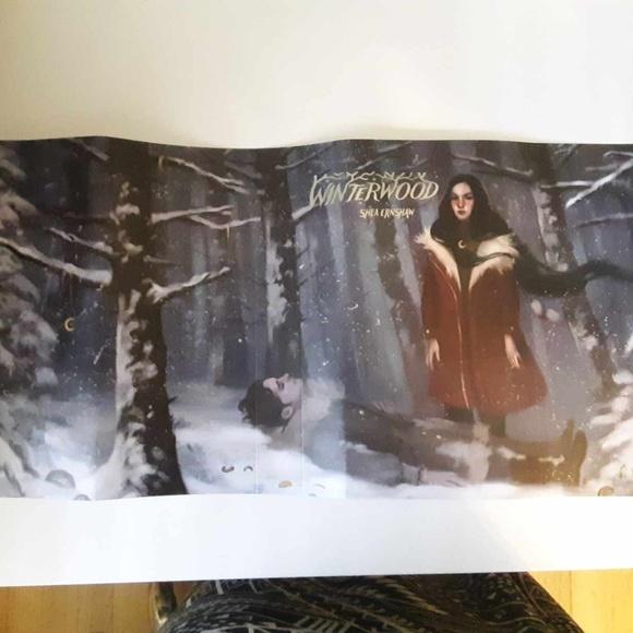 """LitJoy Crate Other - LitJoy Crate Exclusive """"Winterwood"""" Dust Jacket"""